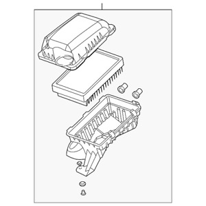 Genuine GM Air Cleaner Assembly 15261753