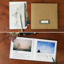 Moods & Views_ 4x6 Edito Real Photo Book Kraft _Paper Frame Type Slip in Album