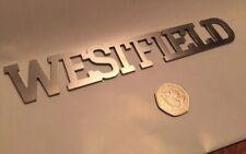 Westfield car stainless steel badge