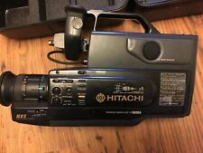 Hitachi HQ VHS Video Camcorder VM-5200A Complete W Hard Case Excellent Condition
