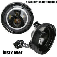 "7"" Moto Phare Feux Avant LED Headlight Mount Feux Support Pour Harley Davidson"