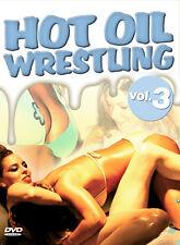 DVD Hot Oil Wrestling 3 MORE THAN 100 Mínimo SLIPPERY Fun DVD