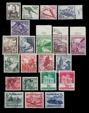 1935 - 1939 1948 GERMANY USED ISSUE COMPLETE AND INCOMPLETE SERIES ONE MINT