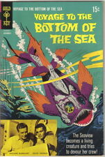 Voyage to the Bottom of the Sea Comic Book #14, Gold Key 1968 Fine+