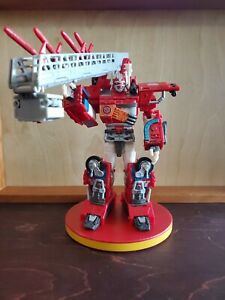 Transformers Robots in Disguise 2001 Optimus Prime (Fire Convoy)