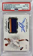 2018-19 Panini Flawless DeAndre Ayton RPA RC Rookie Patch AUTO #3/25 PSA 8