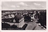 uralte AK, Ingolstadt Gesamtansicht mit St.-Anton-Schule 1955