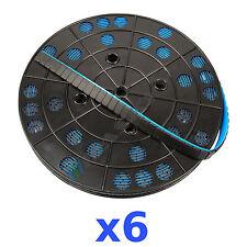 6 x 6KG 36KG Ruolo Pesi Adesivi Nero Pesi Equilibratura Bullone 5g 1200 5g