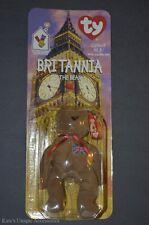 McDonald's Ty Beanie Baby Teenie Beanie Britannia The Bear New 1997 Collectible