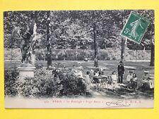 PARIS Le RANELAGH Jardin à l'Anglaise English Garden FUGIT AMOR Belle Animation