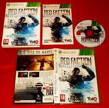 RED FACTION ARMAGEDDON XBOX 360 Ver Italiana (leggi dentro) 1ª Ed ○ USATO - FG