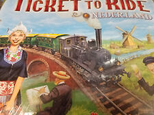 Ticket to Ride Nederland Expansion Collection 4 Days of Wonder Board Game New