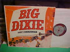 Harry Zimmerman Big Dixie LP NM VINYL SR 608 1957 Record Deep Groove STEREO