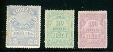 BRAZIL--3 Individual Newspaper Stamps Scott #P20-#P22