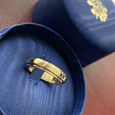 Piaget Possession 18ct Yellow Gold Ring With Single Diamond Size 60