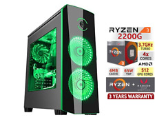 Gaming PC AMD RYZEN 2200G Radeon VEGA 8 1TB Ram 16GB Win 10 FORTNITE - LOL