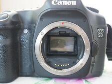 Canon EOS 5D 12.8MP Digital SLR Camera - Black Body