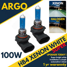 Hb4 100w 8500k Xenon Hid Super White Effect Look Headlight Lamps Light Bulbs 12v
