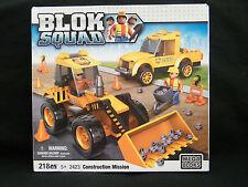 MEGA BLOKS - BLOCK SQAD CONSTRUCTION MISSION - NEW - FREE POST