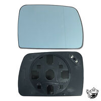 WING MIRROR GLASS FOR RANGE ROVER L322 DRIVERS SIDE BLUE CONVEX HEATED 2002-04
