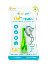 Tick Twist Tornado  2 pack Tick Removal Tool for Dogs Cats horses humans