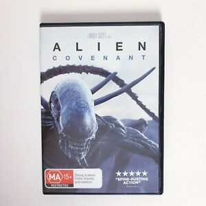 Alien Covenant DVD Region 4 AUS Free Postage - Horror Thriller Scifi