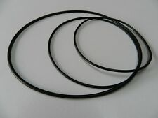 Set Cinghia adatto per Uher variocord 263 rubber Drive Belt Kit