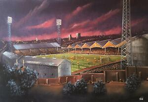 Wolverhampton Wanderers- European Nights, Molineux -  A3 print