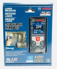 Bosch GLM50 C Bluetooth Enabled Laser Distance Measurer w/ Color Backlit Display