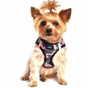 American River Choke Free Pink Camo Dog Harness Camouflage Collection -  XXS-3XL