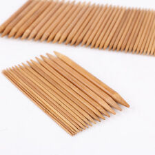 75 x Stricknadeln Bambus Nadelspiel Bambusstricknadeln Set in 15 Stärke 20CM
