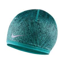 NEW Women's Nike Run Cold Weather Reversible Beanie Dusty Cactus 632297-388 Cap