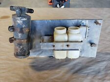Jaguar XKE E-Type Brake Reservoir Bottles, Mounting Bracket and Heat shield OEM