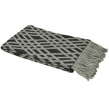 Paolitti Madison Throw Charcoal 140 x 200cm SK083 EE 15