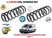 FOR PEUGEOT EXPERT BOX VAN 2.0i 1.6 2.0 HDI 2007 >NEW 2X REAR COIL SPRINGS SET
