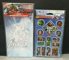Marvel Avengers Age of Ultron Decal and Set of 28 Stickers Avengers Assemble
