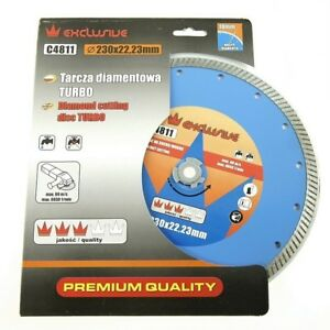 230mm Diamond Cutting Discs Segmented Concrete Stone General Purpose,Turbo