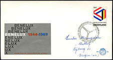Netherlands 1969 Benelux Customs Union FDC First Day Cover #C27389