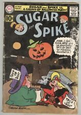 Sugar and Spike #37 November 1961 G/VG Halloween cover
