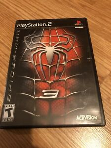 Spider-man 3 Ps2 PlayStation 2 Game Works VC3