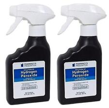 2x Solution Hydrogen Peroxide 3% Topical Anti Infective With Spray Bottle 10 oz