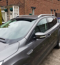 FORD KUGA on 2013 ALUMINIUM ROOF RAIL BARS RACKS GREY COLOUR *NEW*