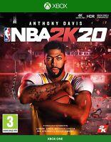 NBA 2K20 BASKETBALL - XBOX ONE - BRAND NEW & SEALED