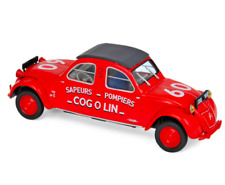 1/43 Norev Citroen 2CV Cogolin 1961 Pompiers Neuf Boite D'origine