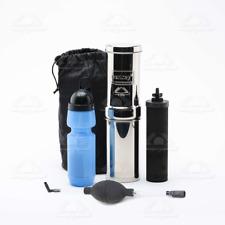 Go Berkey Kit Water Purification Includes Sport Berkey Bottle Black Filter