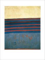 Frank Stella Your Lips are Blue Poster Kunstdruck Bild 80x60cm