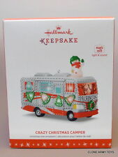 NEW 2016 Crazy Christmas Camper HALLMARK KEEPSAKE ORNAMENT 2017