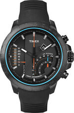 Timex Intelligent Quartz Gent's Adventure Series Linear Black Watch T2P272