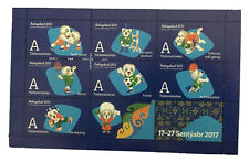 Turkmenistan Postage Stamps 2017 Asian Indoor Games Collectible Original Blue