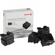 Genuine Xerox ColorQube 8570 Black Solid Ink Sticks (108R00930), 4/Pack
